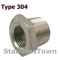 Type 304 Stainless Steel 150# Pipe Bushings