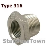 Type 316 Stainless Steel 150#  Pipe Bushings