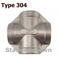 Type 304 Stainless Pipe Crosses