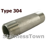 Type 304 Stainless Pipe Nipples