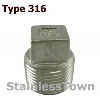 Type 316 Stainless Pipe Plugs