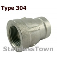 Type 304 Stainless Pipe Reducer Couplings