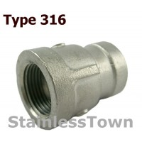 Type 316 Stainless Pipe Reducer Couplings
