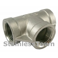 Stainless Pipe Tees