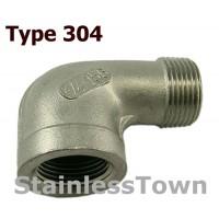 Type 304 Stainless 90 Degree Street Elbows