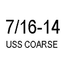 Hex Cap 7/16-14