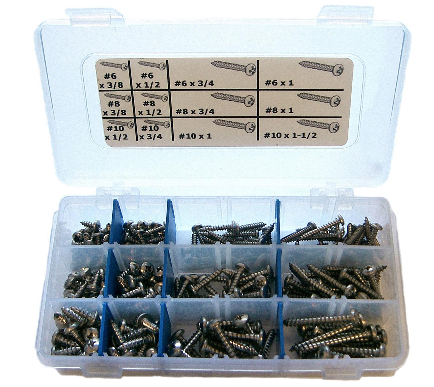 stainless sheet metal phillip pan kits
